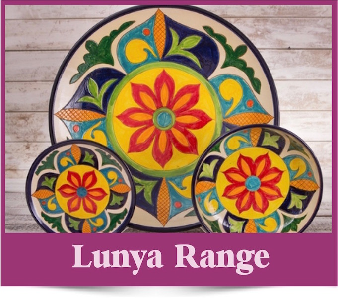 Lunya range of Spanish Ceramics from Brambles Deli Kirkcudbright