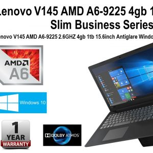 Lenovo V145 AMD A6-9225  8GB RAM  256GB SSD Windows 10 Pro