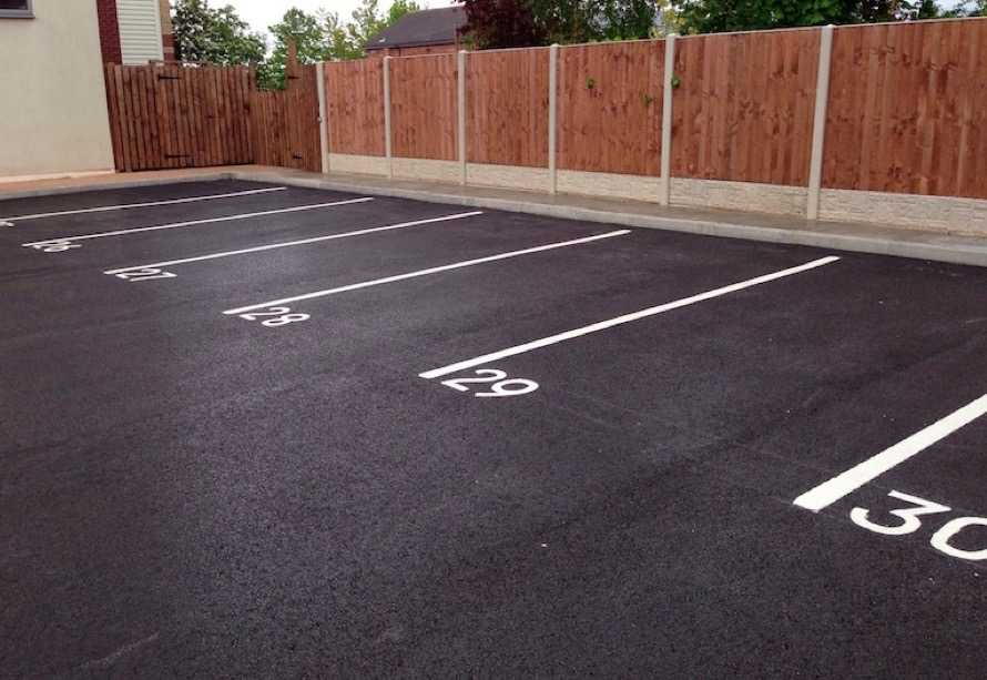 Car park surfacing contractors Wolverhampton