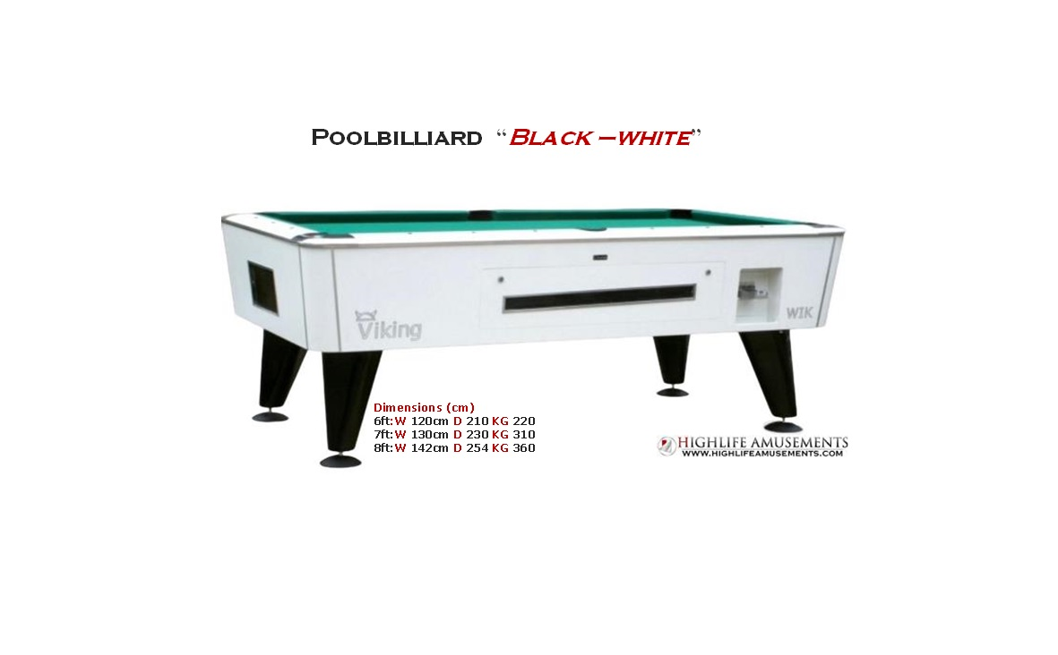 "Rental Poolbilliard ""Viking"""
