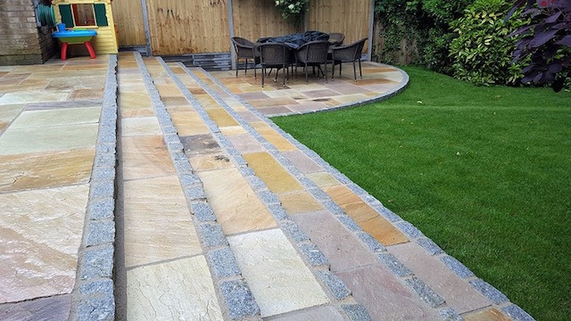 Natural stone patios in Datchet, Berkshire