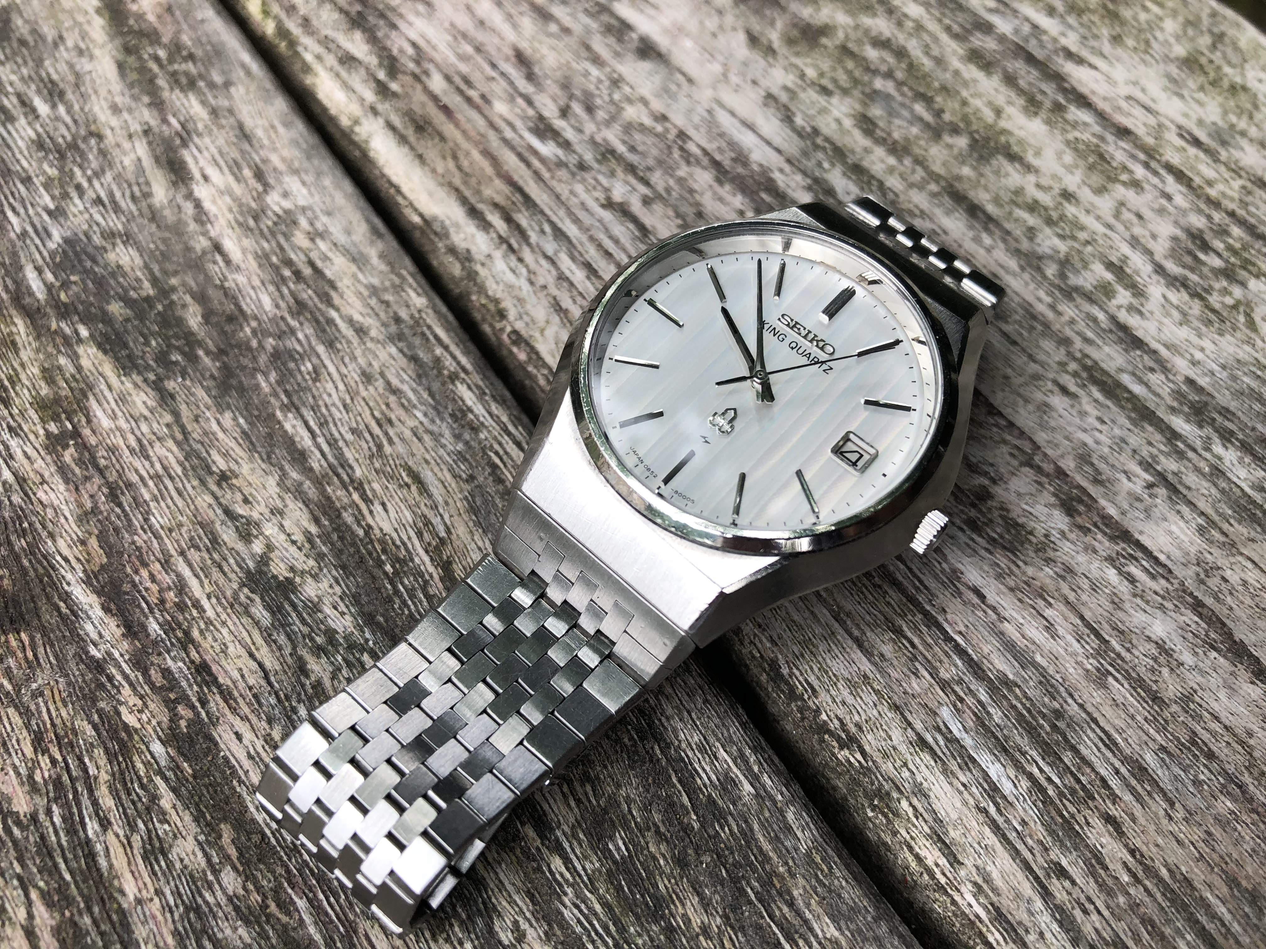 Seiko King Quartz 0852-8000 (Sold)