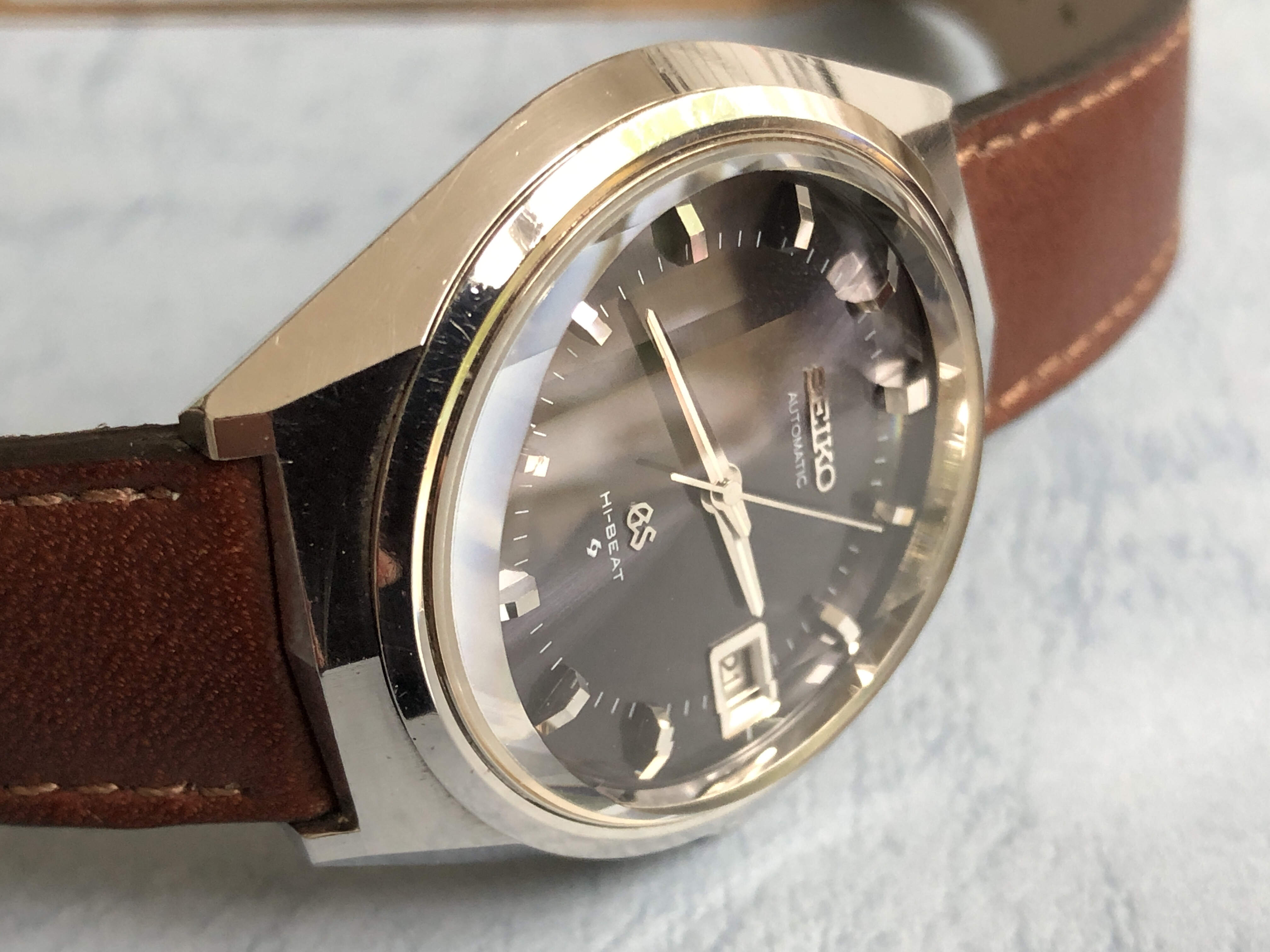 Grand Seiko 6145-8050 with GS buckle (Sold)