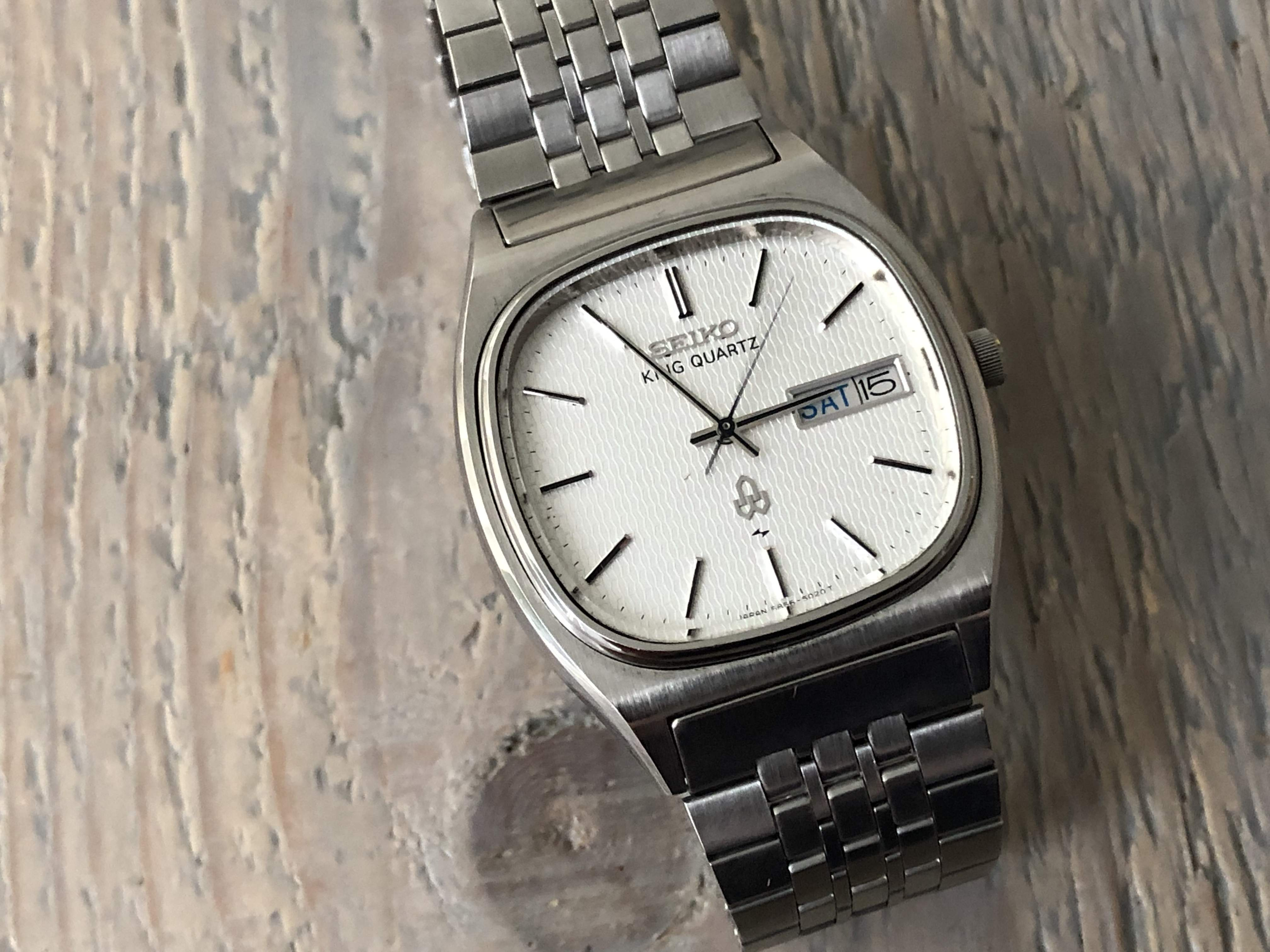 Seiko King Quartz 5856-5020 (Sold)