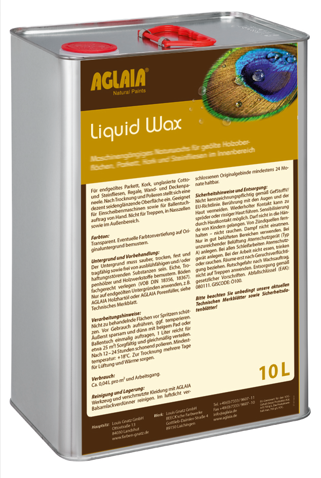 Aglaia Liquid Wax