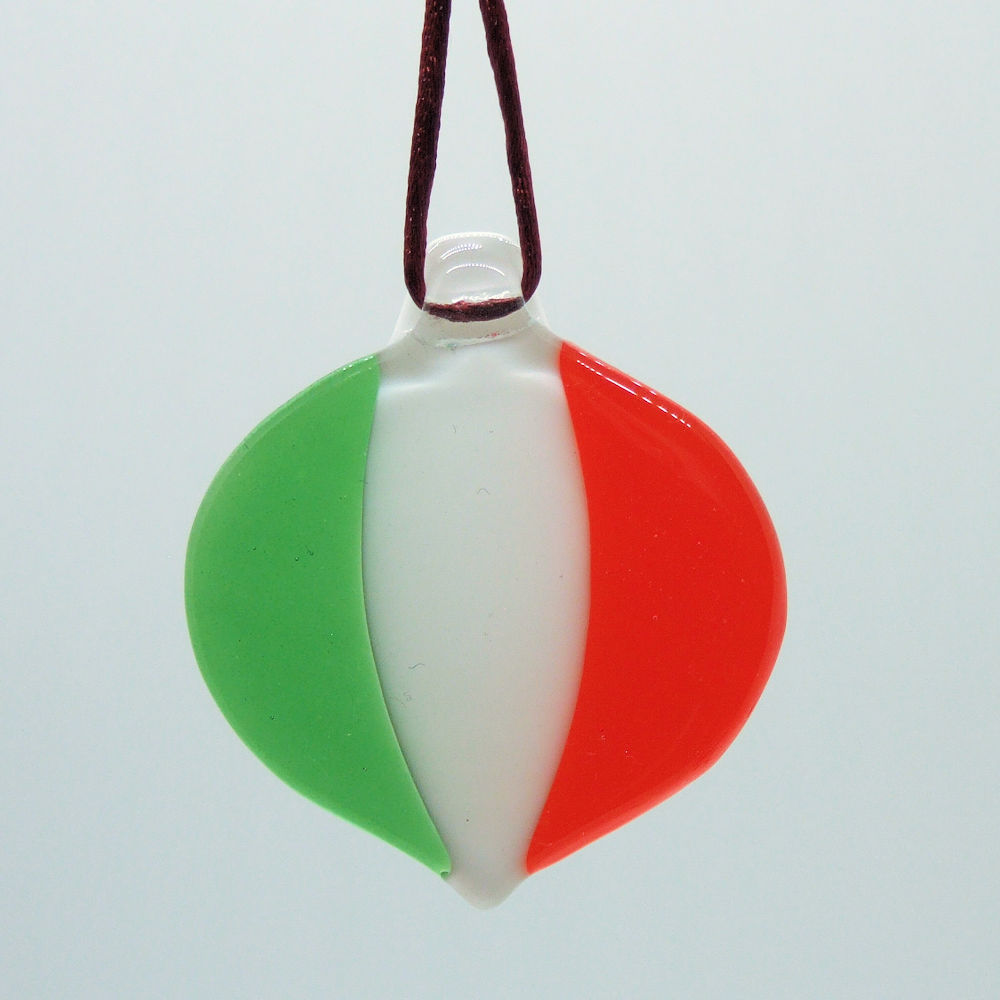 Christmas Decoration - Tricolour Bauble