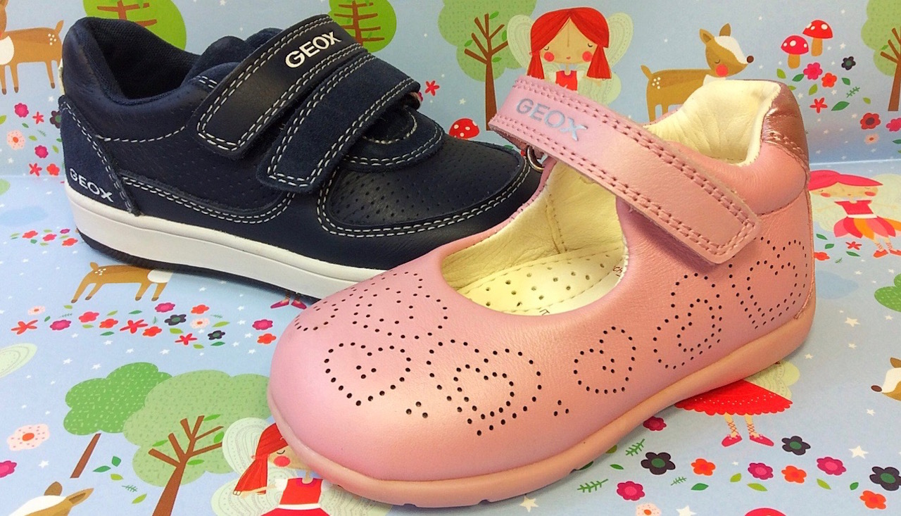 On-trend children's shoes