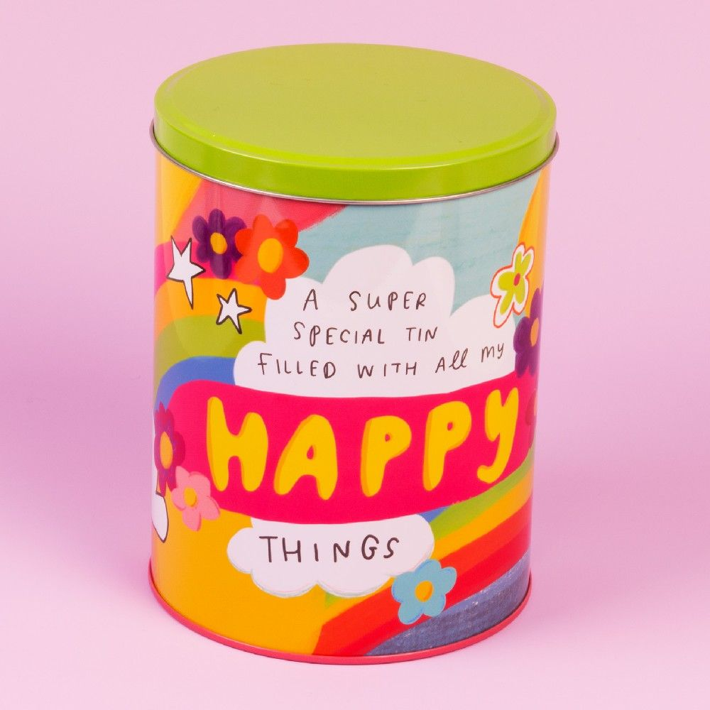 The Happy News Storage Tin - Happy Things
