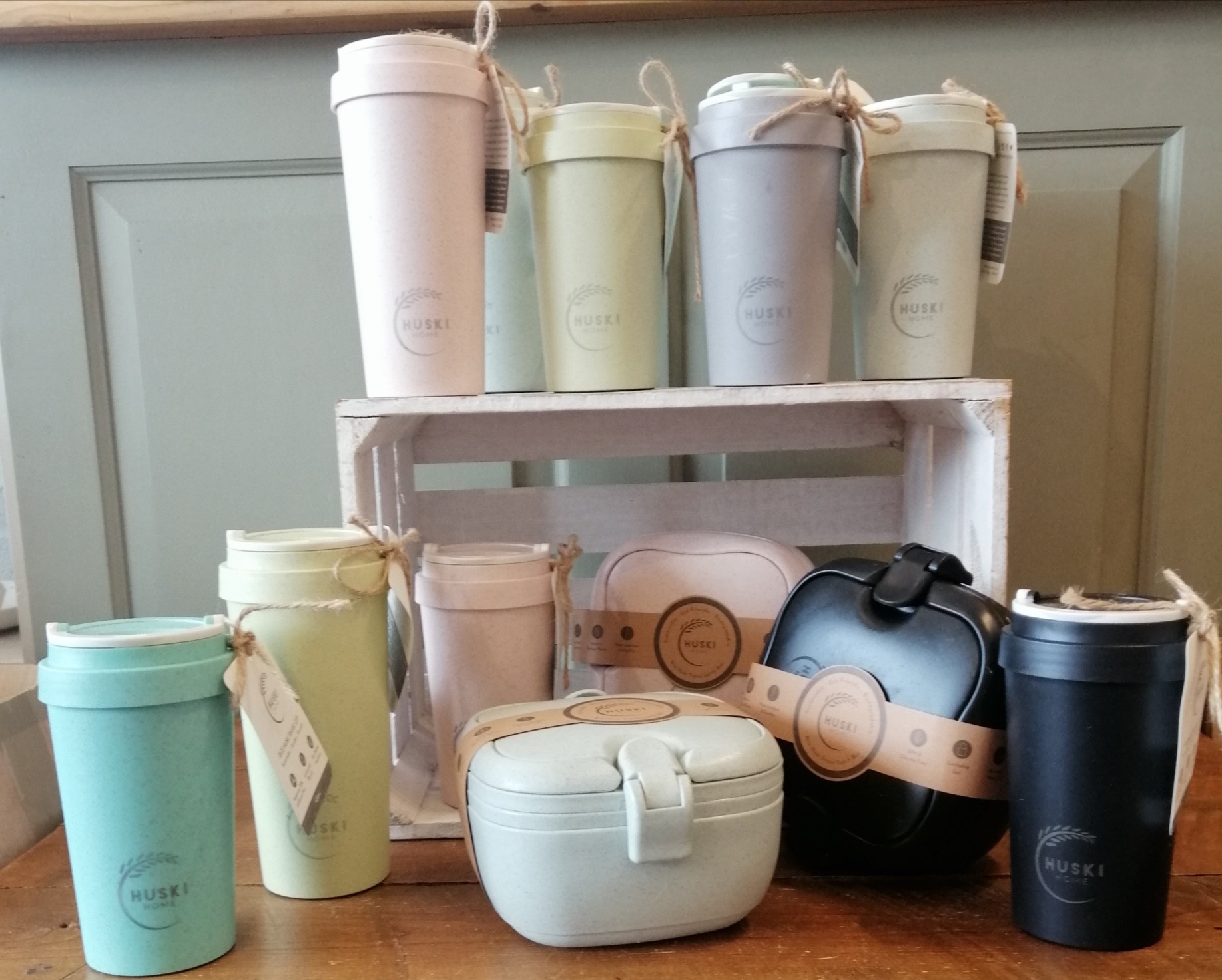 Huski Home Travel Mugs and Lunch Boxes