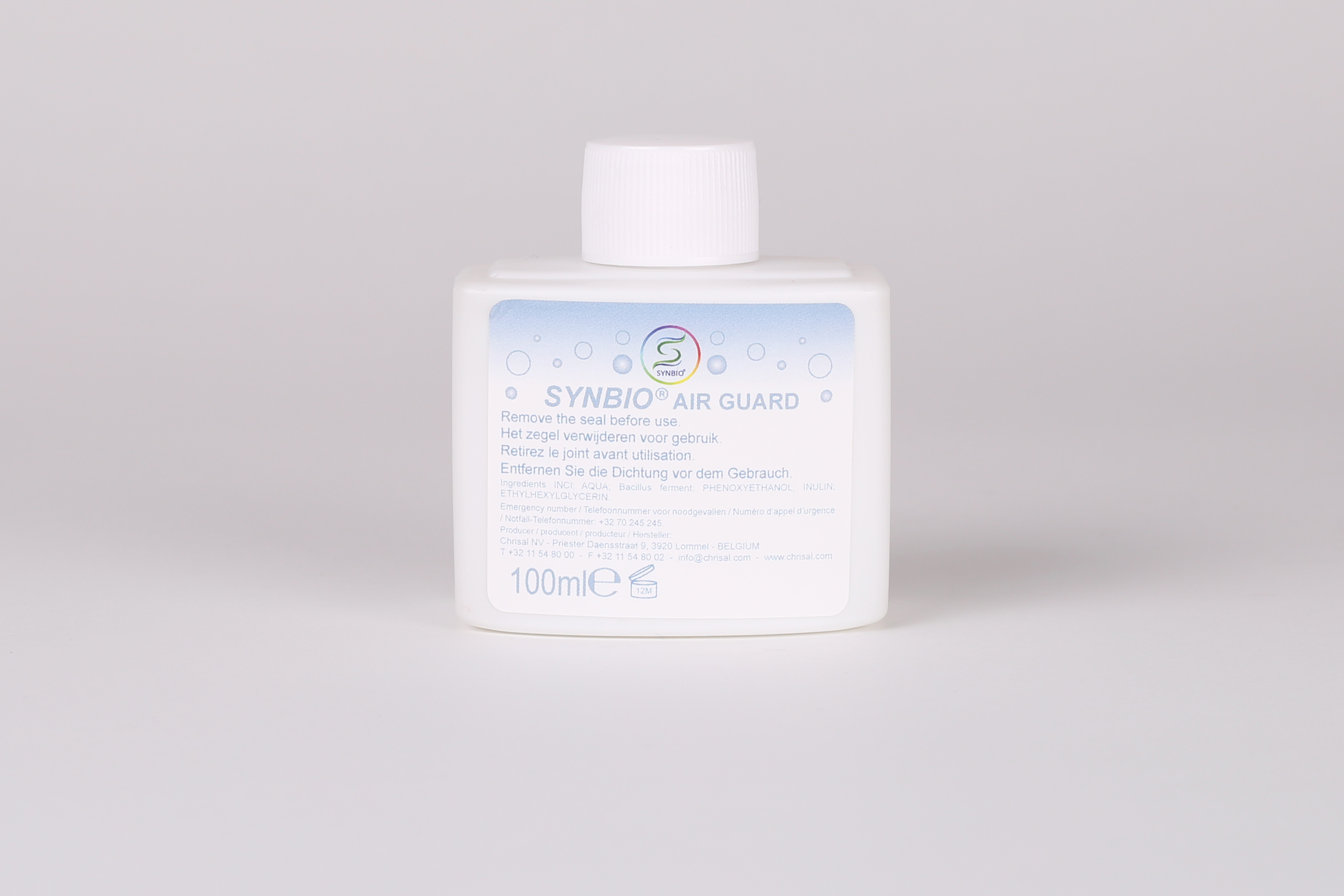 78100  Synbio Air Guard Liquid 100 ml (wit)