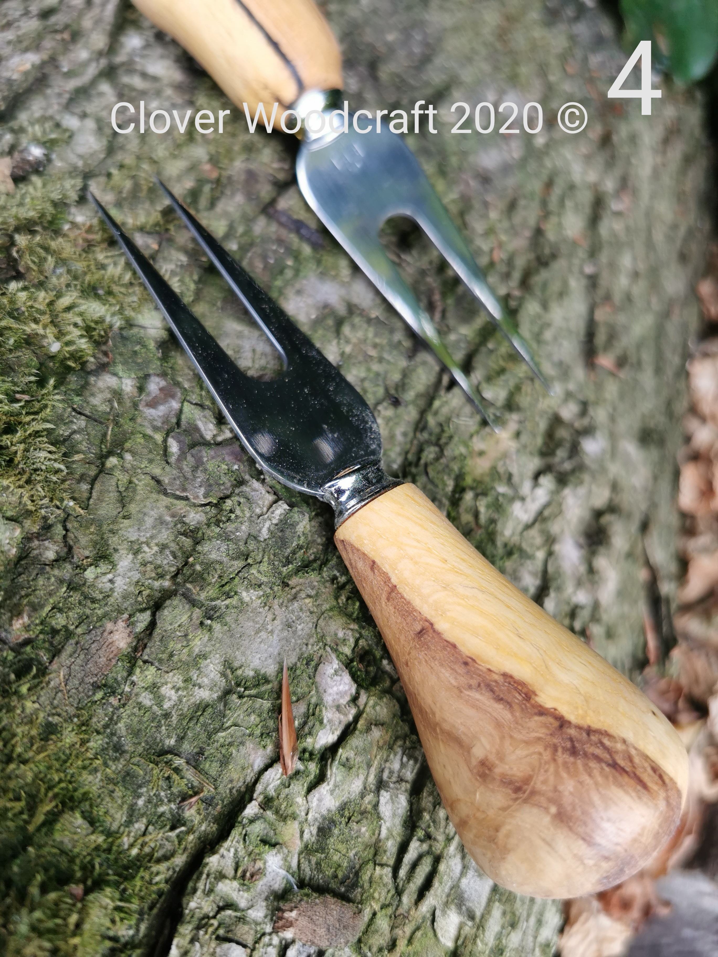 Handmade Wood turned Cheese Knife and Accessories