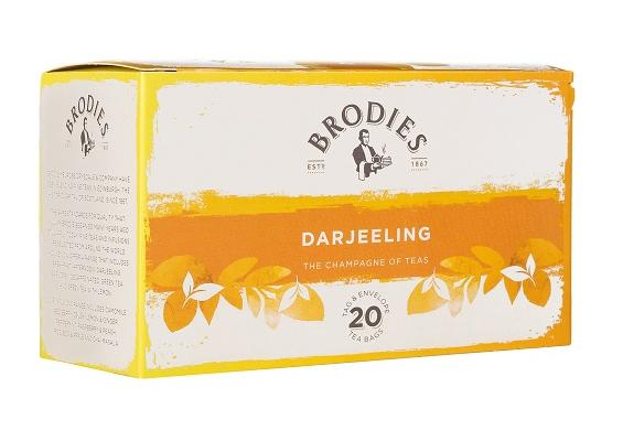 Brodie Melrose Darjeeling Tea Tag and Envelope