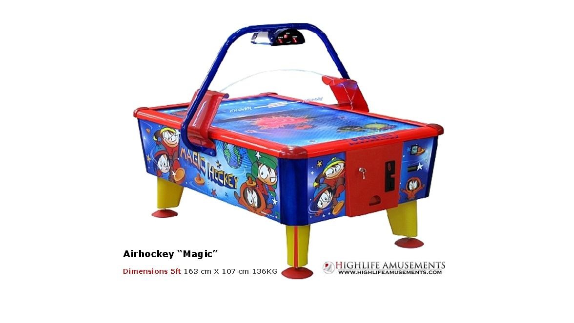 "Airhockey kids ""Magic"""