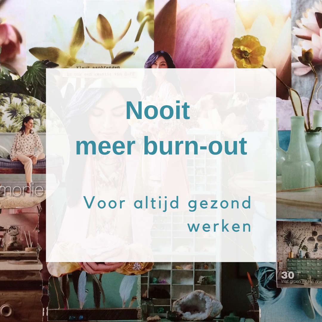 Training Nooit meer een burn-out