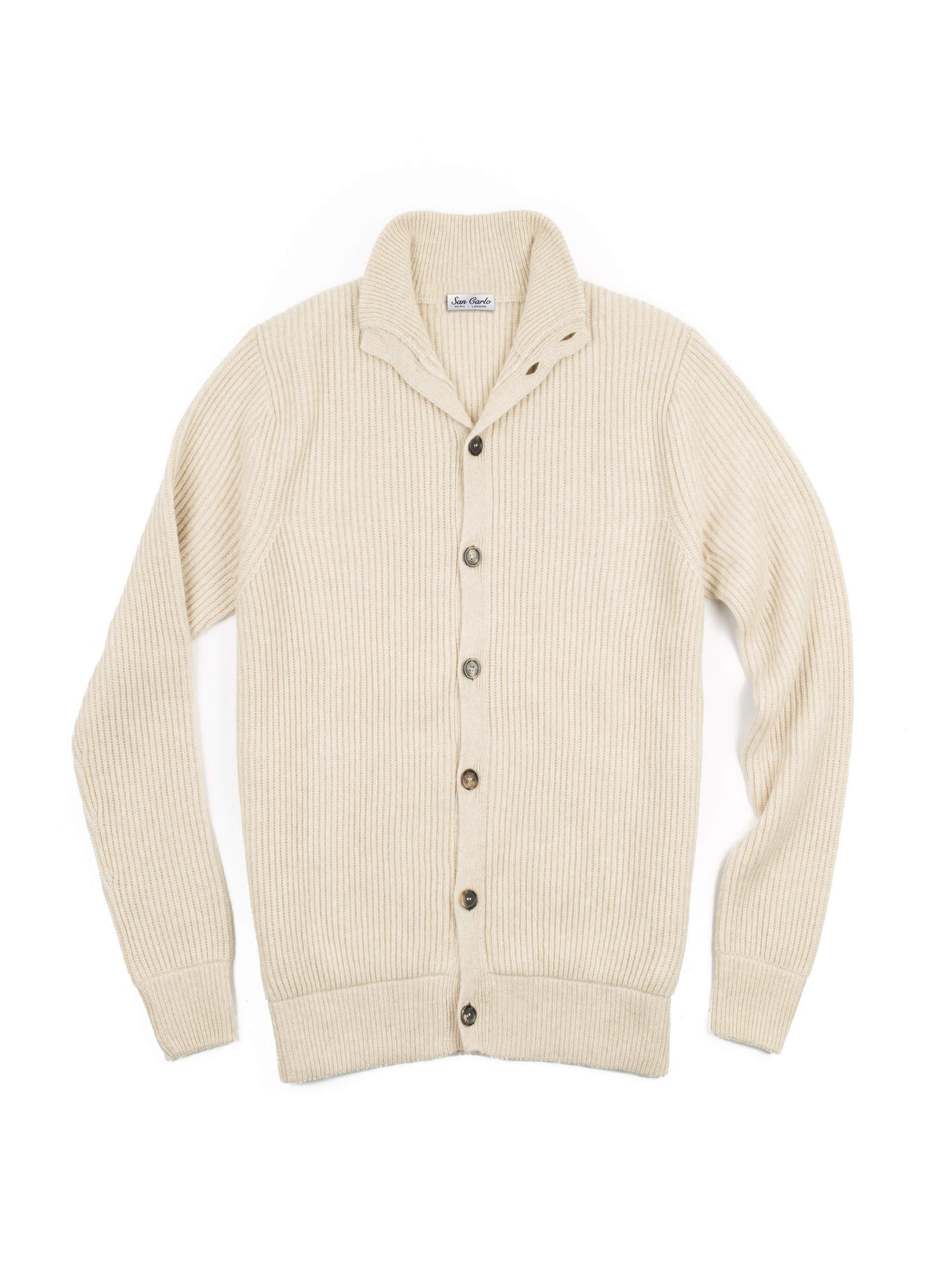 cardigan cashmere off white 01