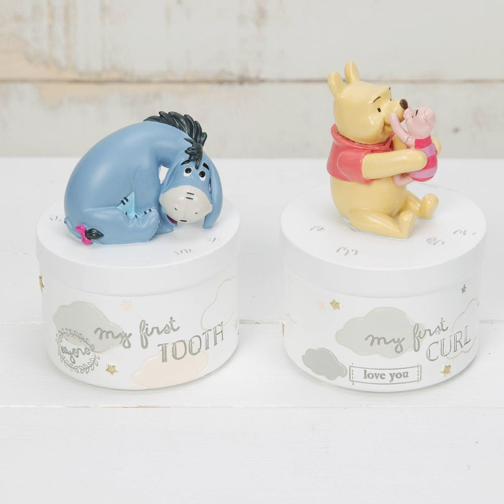 Disney Pooh and Eeyore Tooth and Curl Box set