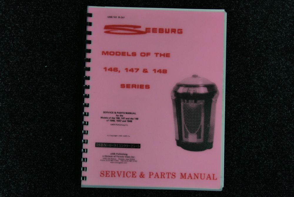 Seeburg - Service and Parts Manual 146, 147, 148 Series