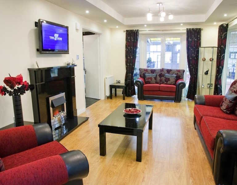 Park Home Lounge at West Park Homes, Pontefract, West Yorkshire