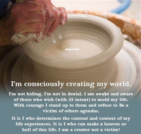Consciously Creating My World (Affirmation)