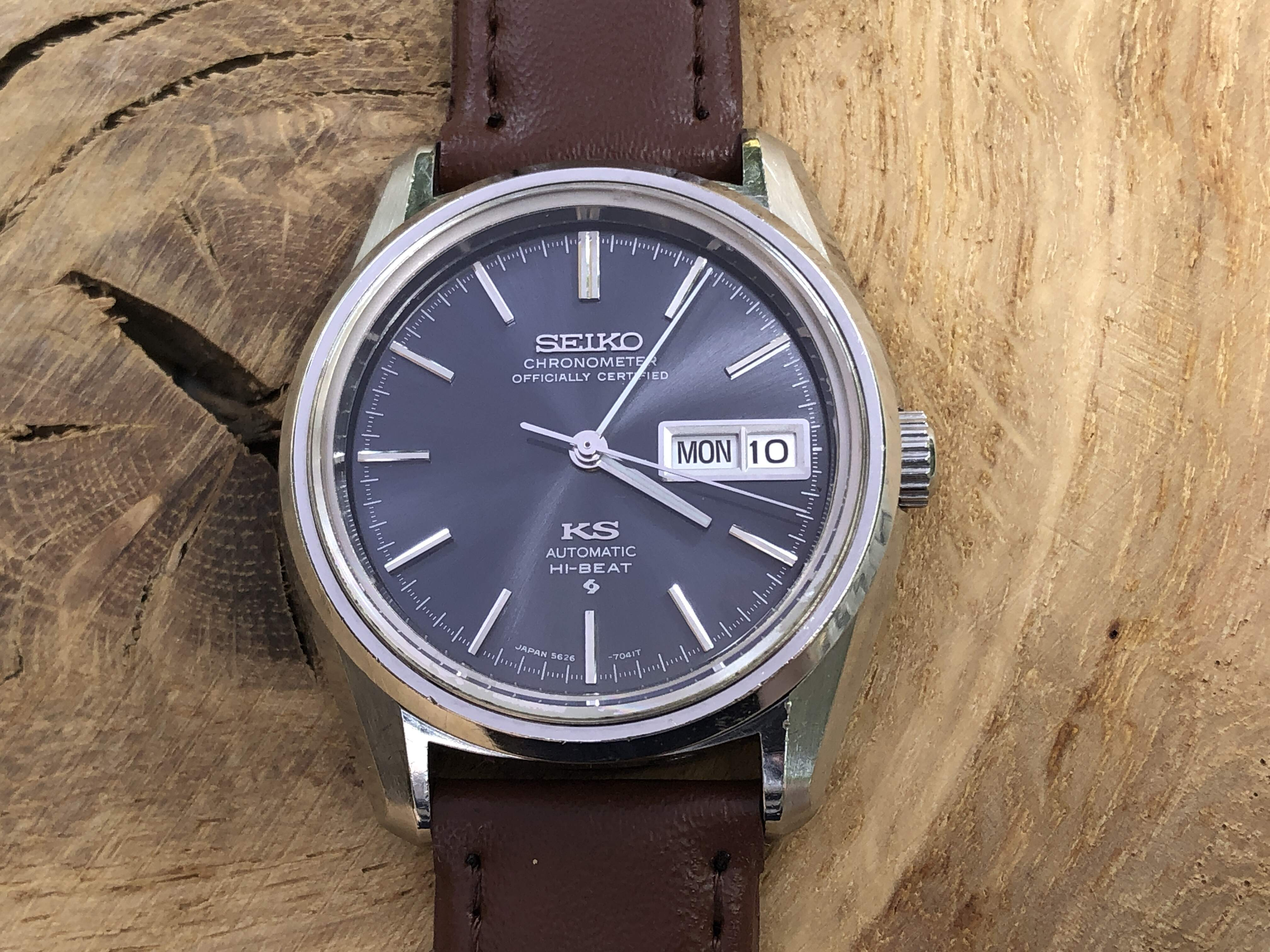 King Seiko Chronometer 5626-7040