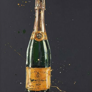 Richard Blunt Cliquot Artists Proof