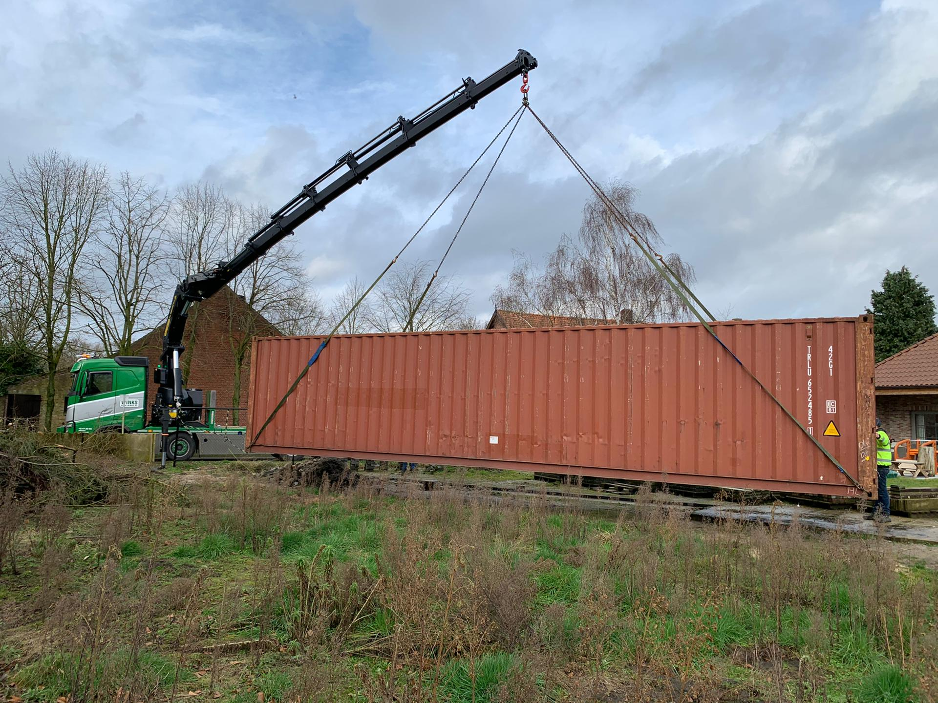Transport 40ft container
