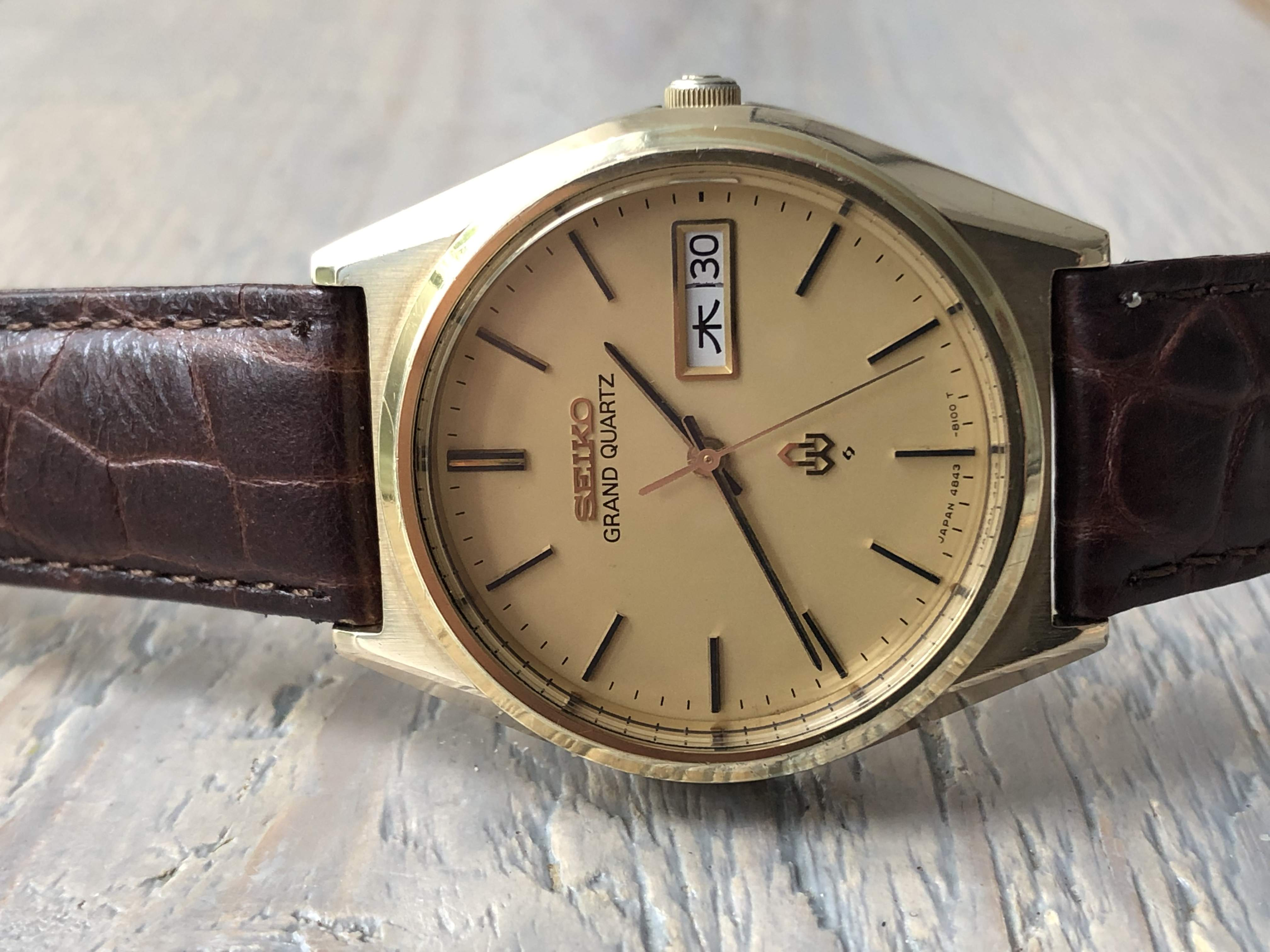 Seiko Grand Quartz GC 4843-8110 (Sold)