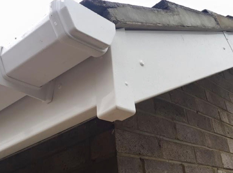 Low maintenance UPVC soffits