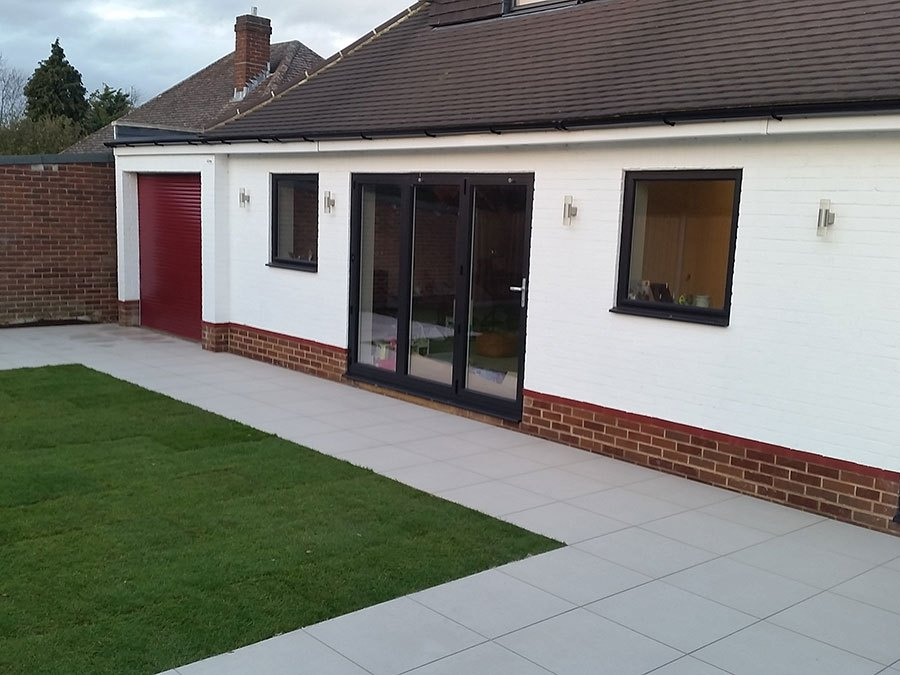 Patio builders Windsor, Berkshire