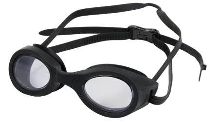 Hilco Stingray Adult regular fit swim goggles Black