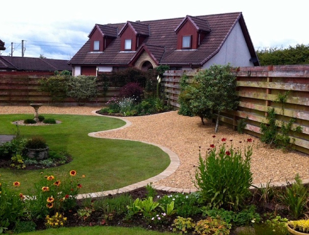 Garden design and landscaping by Creative Gardens Dalbeattie