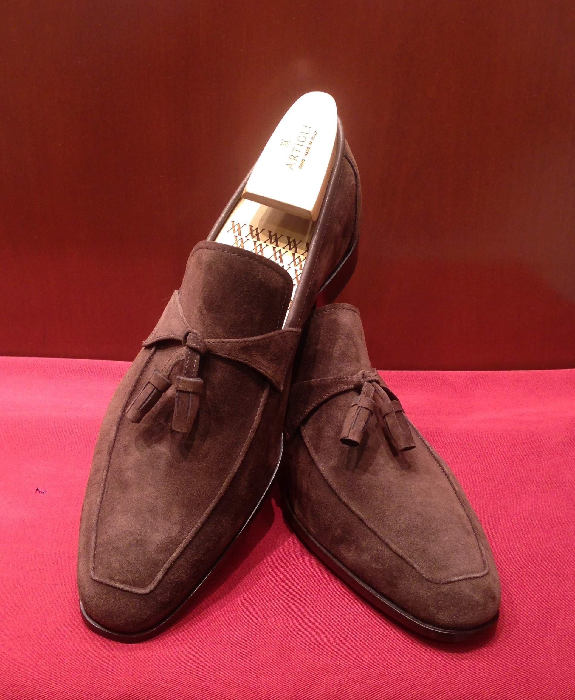 Loafer Model 221 Brown Suede