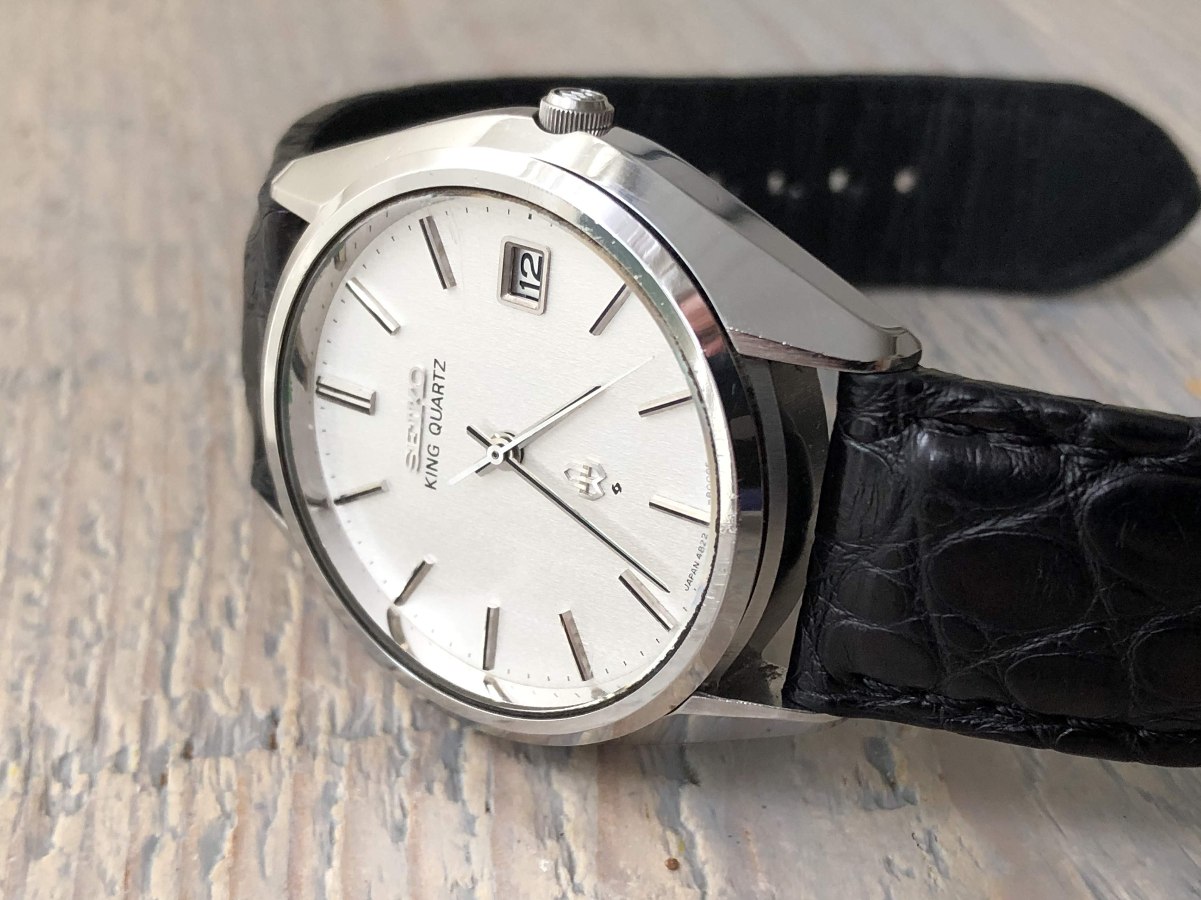 Seiko King Quartz 4822-8000 - rare! (Sold)