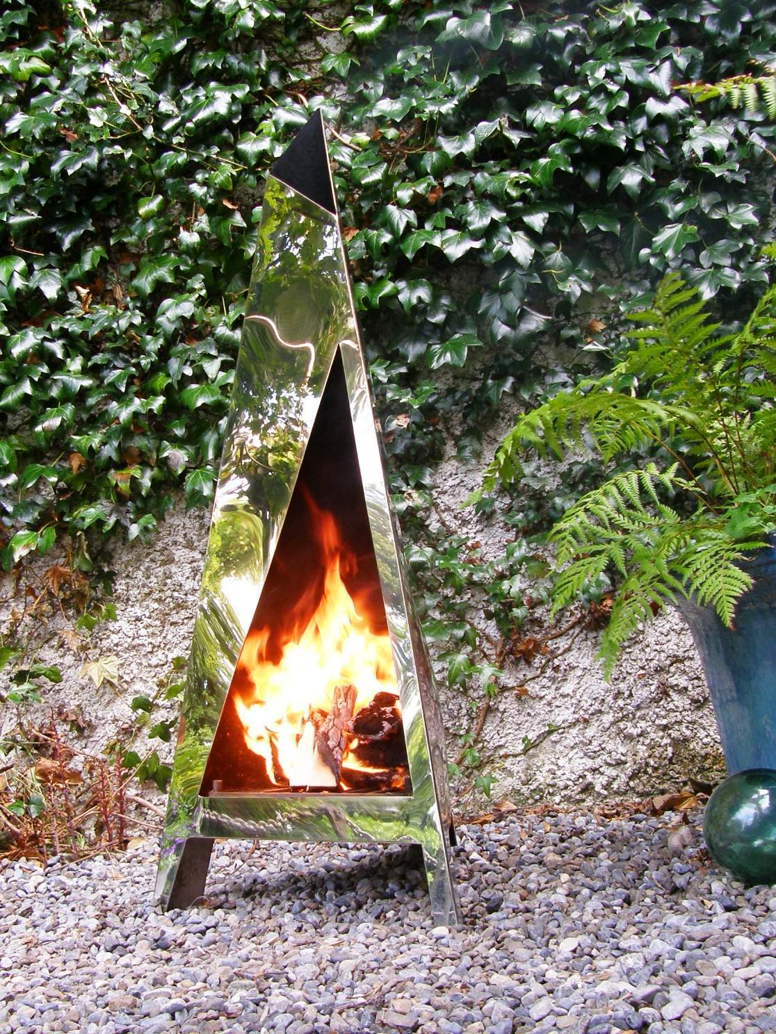 Summertime FIRE'NESS - Handmade in Stainless Steel - €695.00
