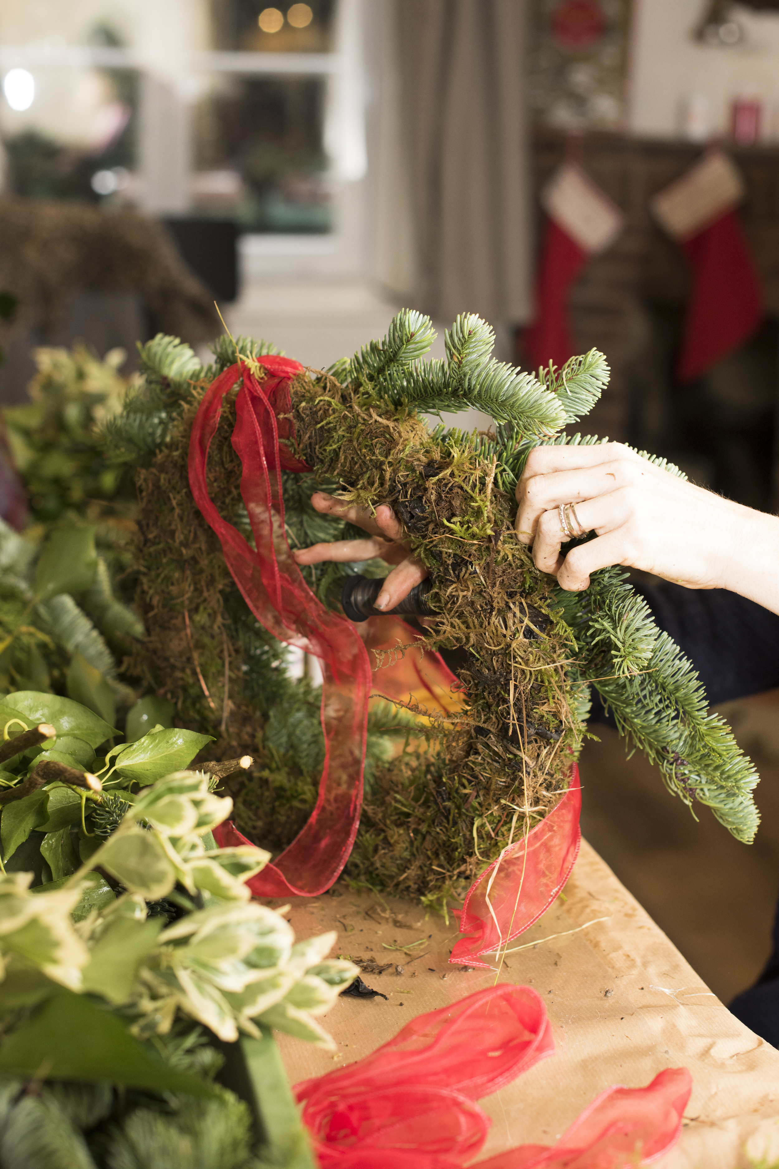 Luxury Christmas Wreath Workshop  via Zoom on Friday December 4th 2020  10:00-12:00