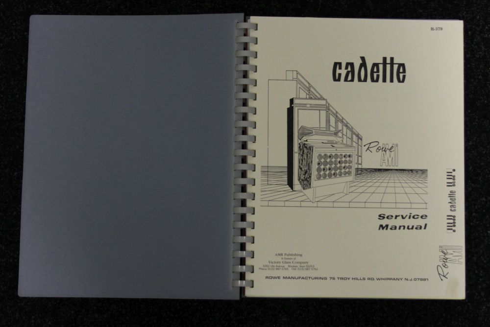 Rowe AMI - Service Manual - Cadette