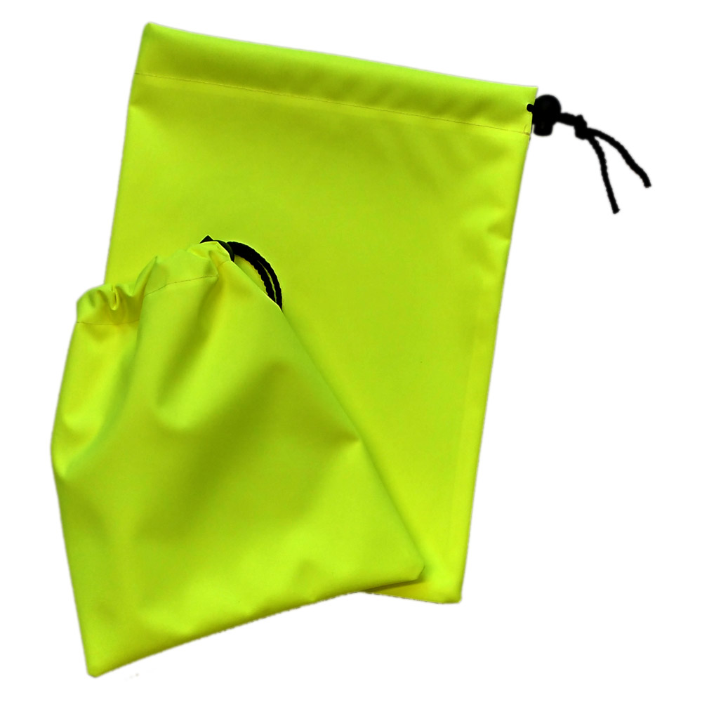 Large Hi Vis Yellow Bags