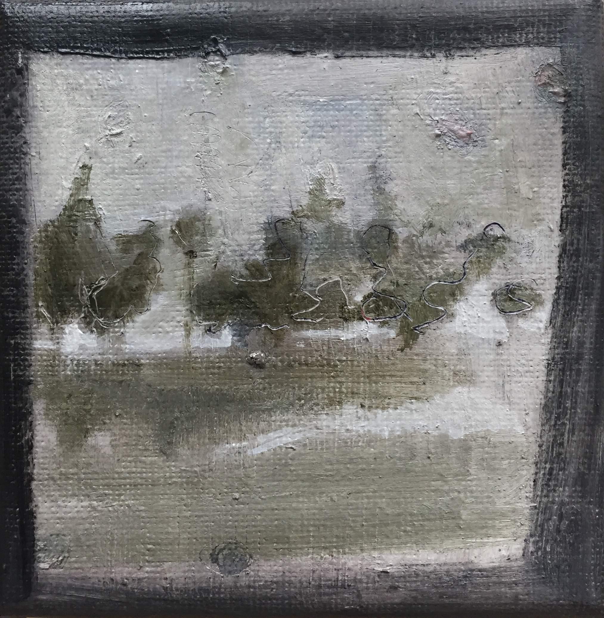10 x 10 cm, oil paint on canvas