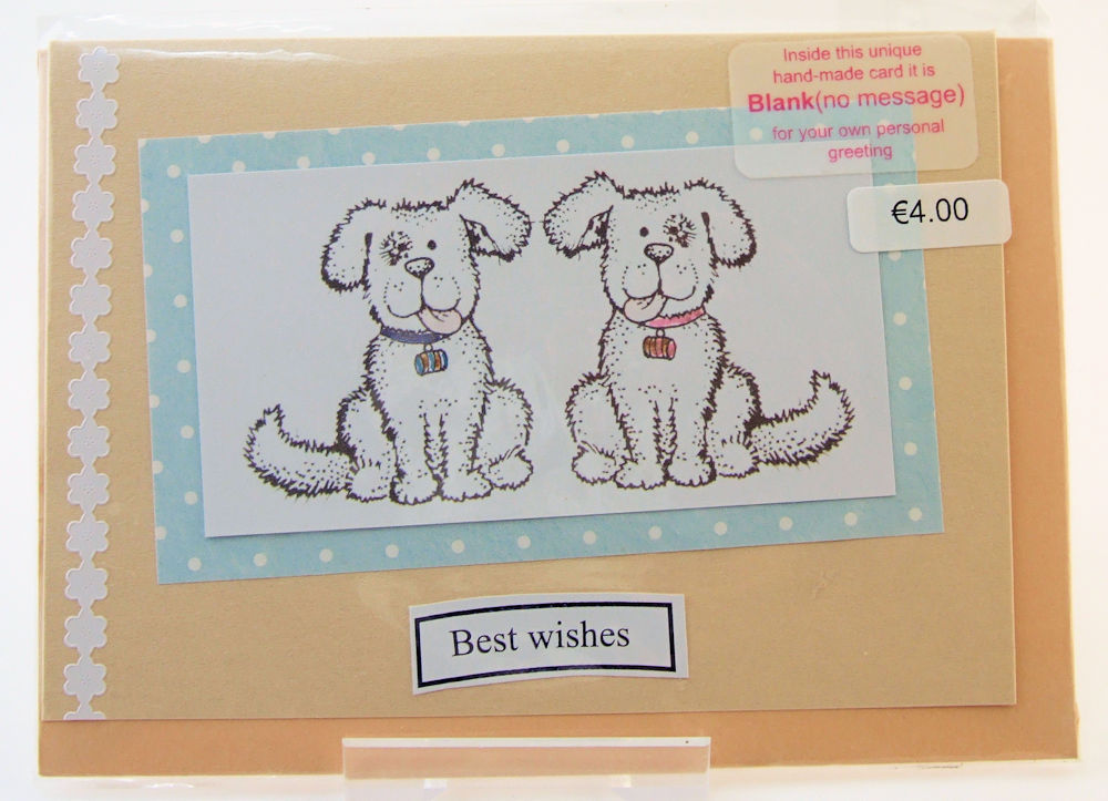 Handmade 'Best Wishes' Card - 7