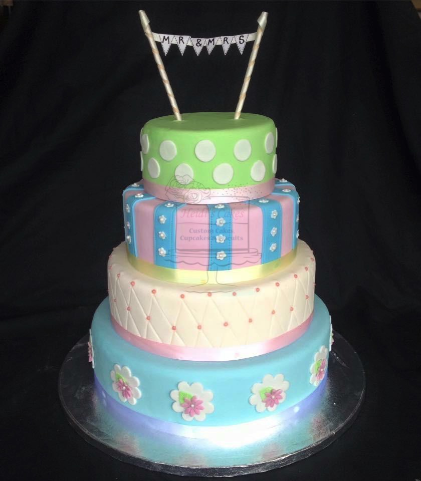 'Cath Kidston' Inspired 4 Tier