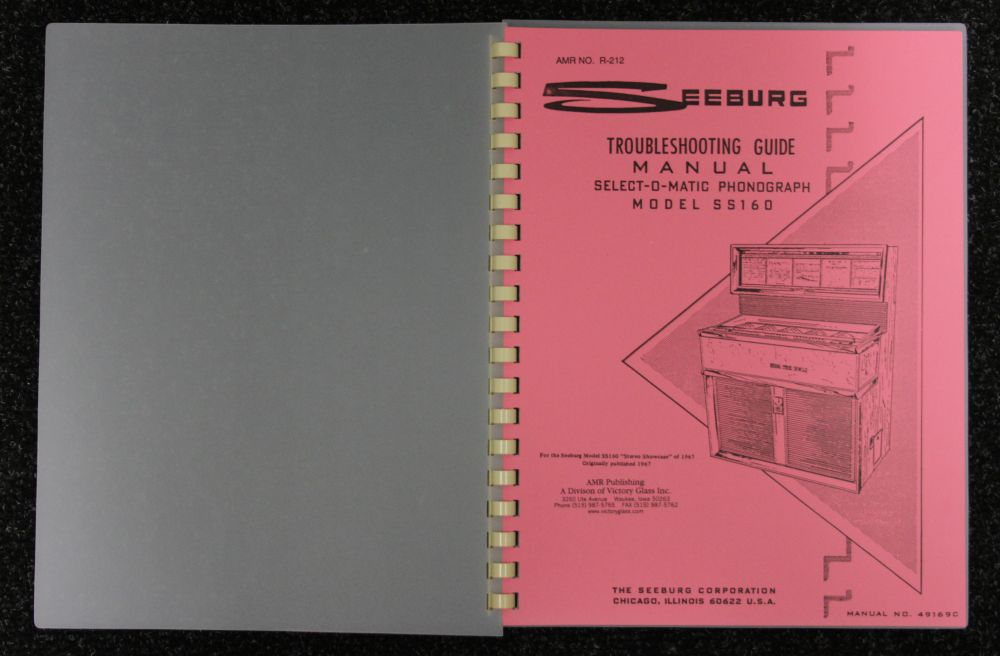 Seeburg - Troubleshooting Guide Model SS160