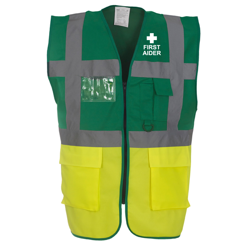 Executive Safety Vest First Aider