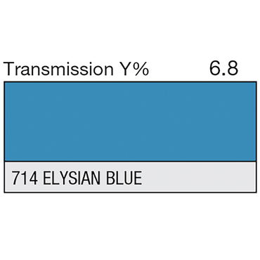 Lee 714 Elysian Blue Roll