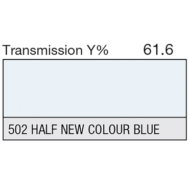 Lee 502 Half New Colour Blue Roll