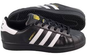 Adidas Super Star Black-White