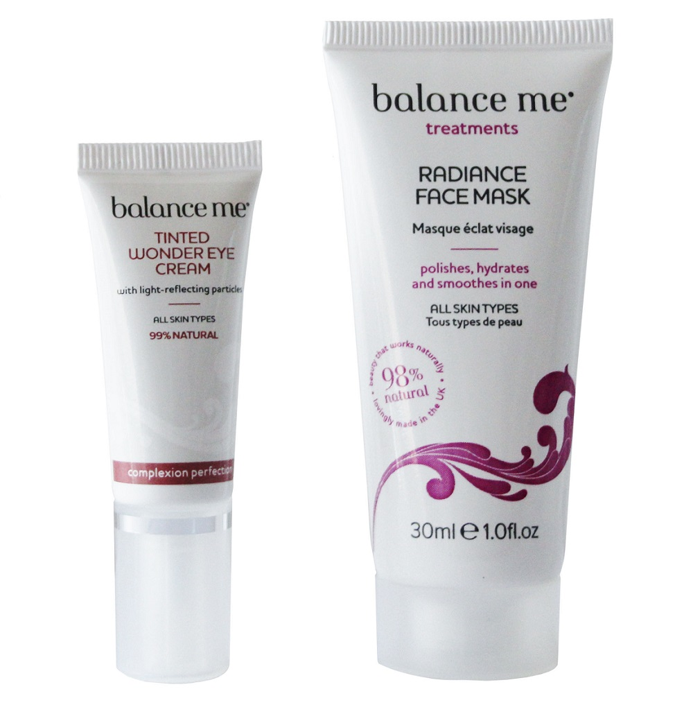 Pamper Beauty Basket with 'Balance Me'