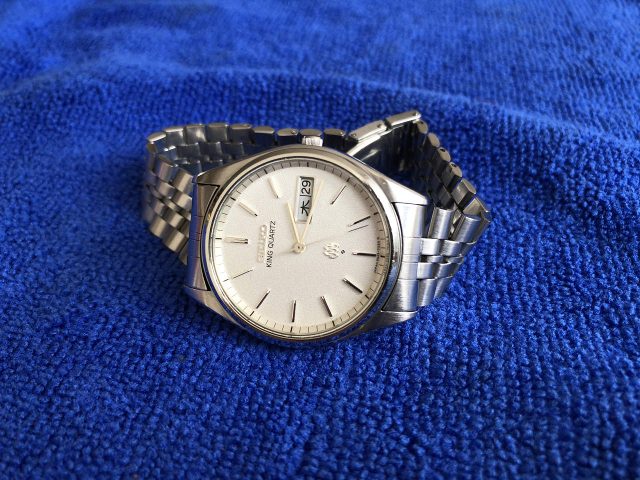Seiko King Quartz 9923-7020 (sold)