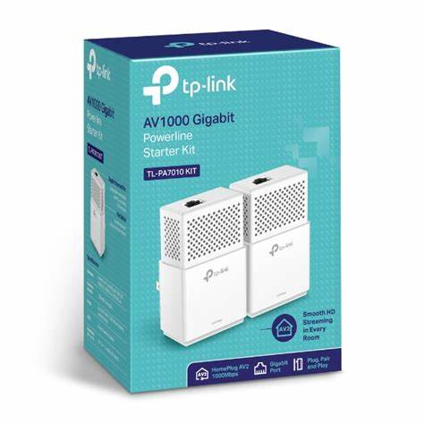 TP-LINK POWERLINE STARTER KIT - WIFI EXTENDER- AV1000