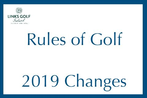New Golf Rules for 2019