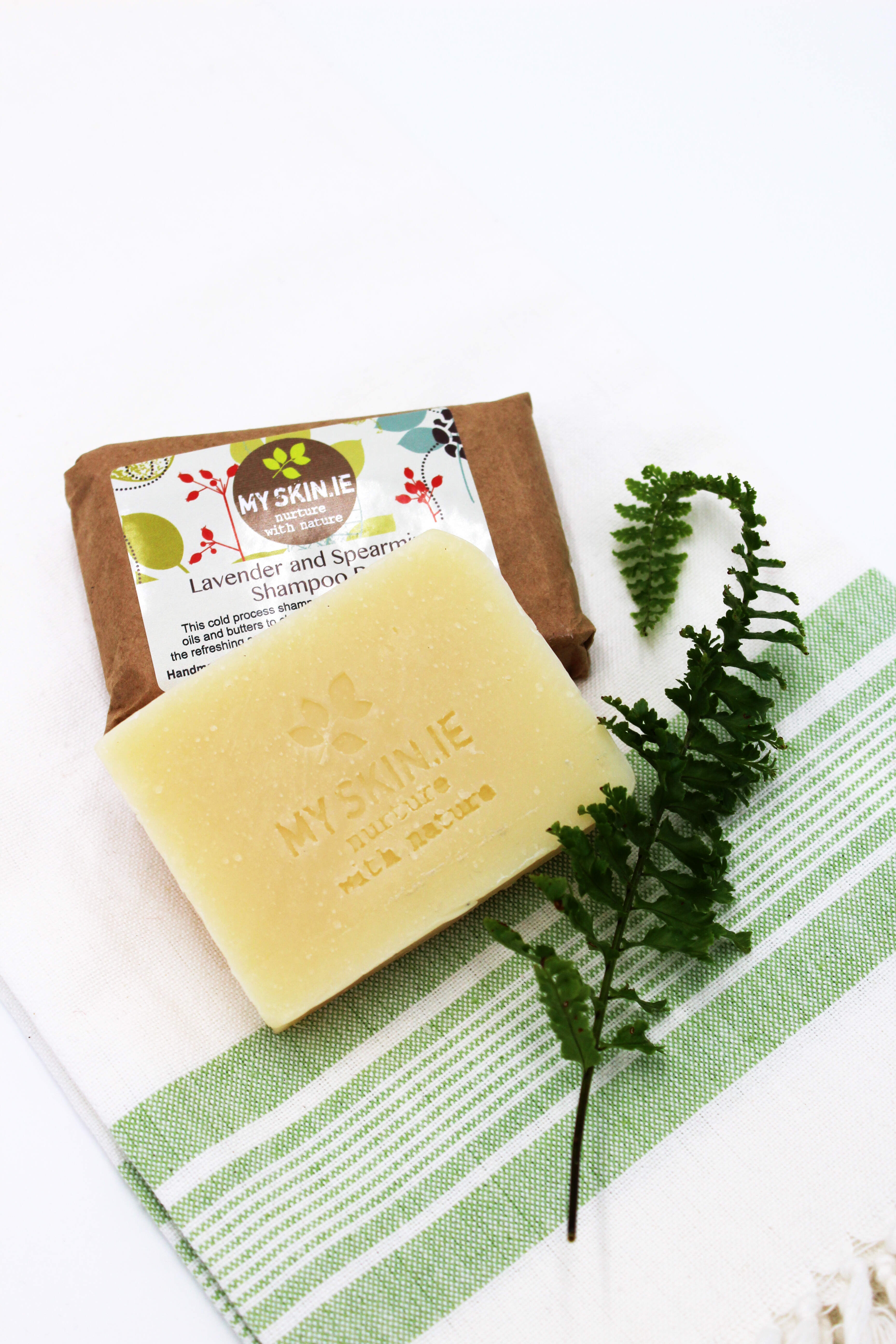 Lavender and Spearmint Shampoo Bar